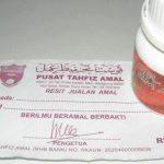 Penipuan Menggunakan Pusat Tahfiz Amal